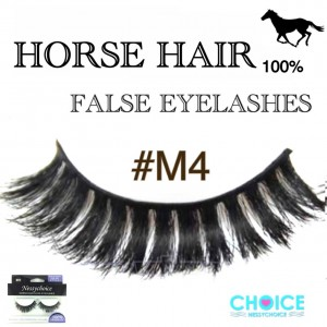 NESSYCHOICE HORSE HAIR FALSE EYELASHES NO. M4