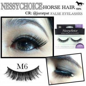 NESSYCHOICE HORSE HAIR FALSE EYELASHES NO. M7
