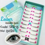 ขนตาปลอมล่างแกนเอ็นรหัส SED6
