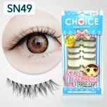 ขนตาปลอมบนแกนเอ็นรหัส SN49