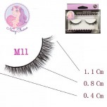 NESSYCHOICE HORSE HAIR FALSE EYELASHES NO. M11