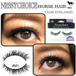 NESSYCHOICE HORSE HAIR FALSE EYELASHES NO. M1