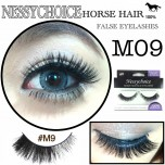 NESSYCHOICE HORSE HAIR FALSE EYELASHES NO. M9