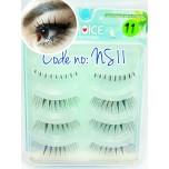 ขนตาปลอมCHOICEแพ็ค4คู่รหัส NS11