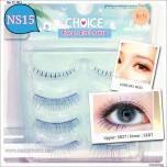 ขนตาปลอมCHOICEแพ็ค4คู่รหัส NS15