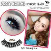 NESSYCHOICE HORSE HAIR FALSE EYELASHES NO. M4