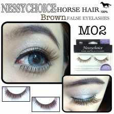 NESSYCHOICE HORSE HAIR FALSE EYELASHES NO. M2