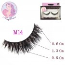 NESSYCHOICE HORSE HAIR FALSE EYELASHES NO. M14