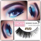 NESSYCHOICE HORSE HAIR FALSE EYELASHES NO. M9