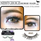 NESSYCHOICE HORSE HAIR FALSE EYELASHES NO. M3