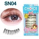 ขนตาปลอมบนแกนเอ็นรหัส SN04