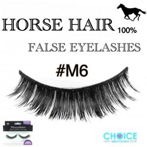 NESSYCHOICE HORSE HAIR FALSE EYELASHES NO. M6