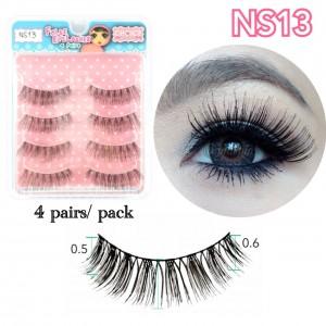 ขนตาปลอมCHOICEแพ็ค4คู่รหัส NS13