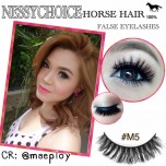 NESSYCHOICE HORSE HAIR FALSE EYELASHES NO. M5