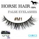 NESSYCHOICE HORSE HAIR FALSE EYELASHES NO. M1