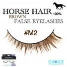 NESSYCHOICE HORSE HAIR FALSE EYELASHES NO. M2