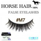 NESSYCHOICE HORSE HAIR FALSE EYELASHES NO. M7