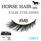 NESSYCHOICE HORSE HAIR FALSE EYELASHES NO. M8