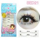 ขนตาปลอมล่างแกนเอ็นรหัส SED21