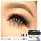 NESSYCHOICE HORSE HAIR FALSE EYELASHES NO. M11