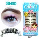 ขนตาปลอมบนแกนเอ็นรหัส SN60