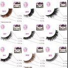 NESSYCHOICE HORSE HAIR FALSE EYELASHES NO. M13