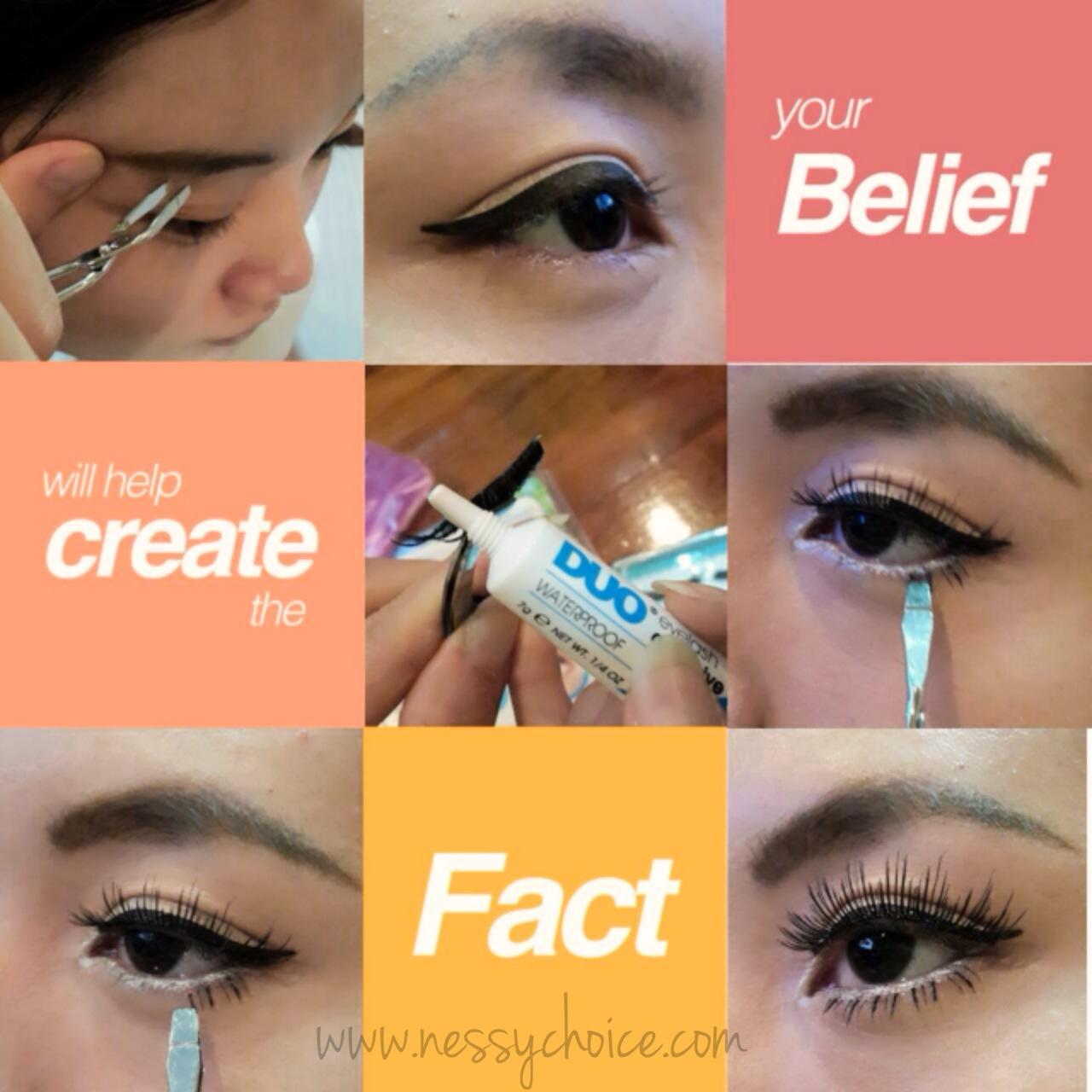 How to use Slant Tip choice False eyelashs tweezer